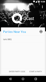 QCast- Collaborative Playlists Screenshot 1