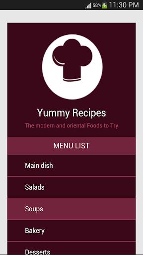 Yummy Recipes