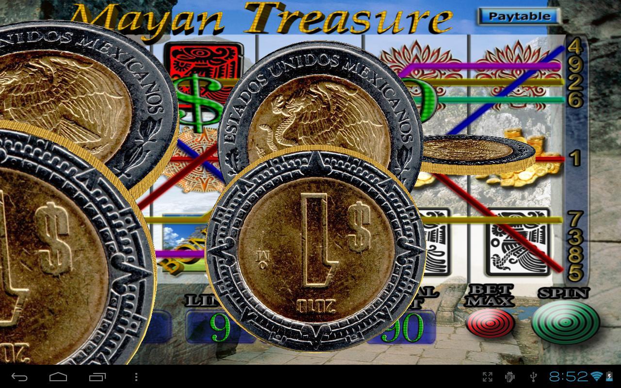 mayan treasures slot machine