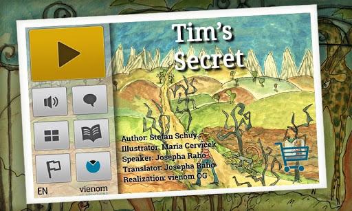 Tim's Secret Kids Book