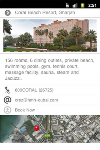 Coral Hotels - screenshot