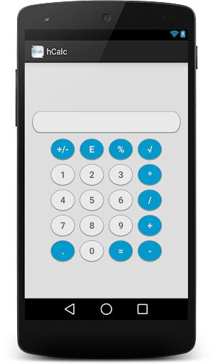 hCalc Calculator