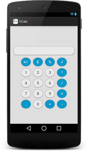hCalc Calculator screenshot for Android
