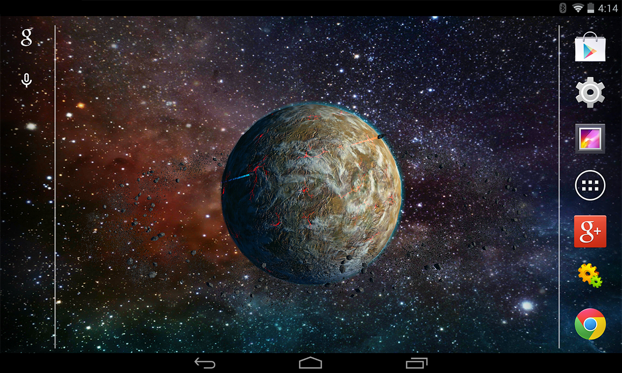 3d planet free live wallpaper - android apps on google play
