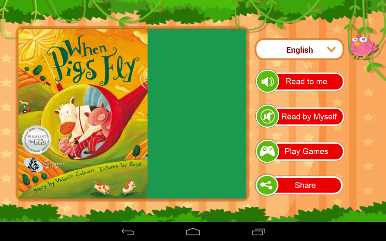 MangoReader - Story books- screenshot