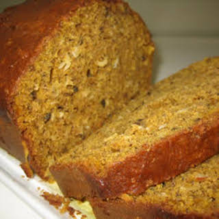 Pumpkin Coconut Bread.