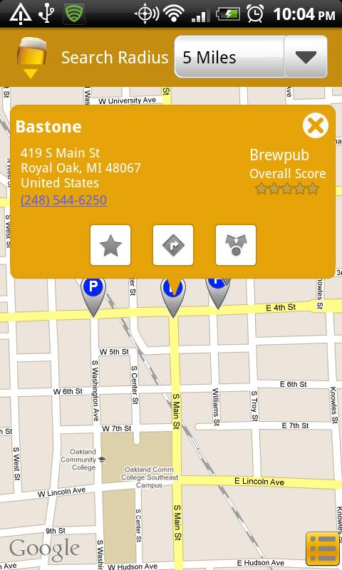 BeerWhere - screenshot