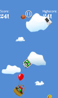 Screenshot of Fallin' Stuff