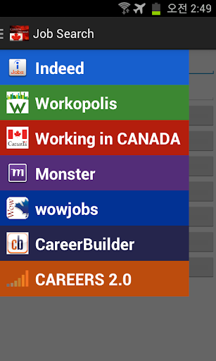 Canada Jobs Search
