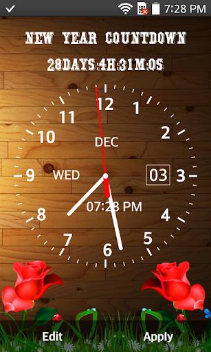 Photo Clock Live Wallpaper - Analog, Digital Clock screenshot