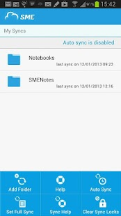 SME Cloud File Manager - screenshot thumbnail