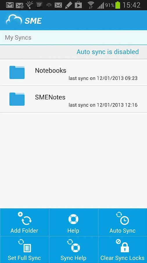 SME Cloud FIle Manager - screenshot