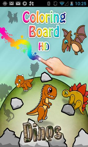 Coloring Board Dinosaurus HD