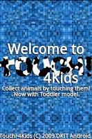 Screenshot of Touch 4 Kids Pro