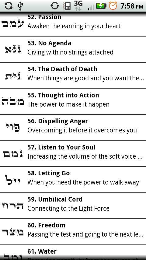 The 72 Names Of God- screenshot