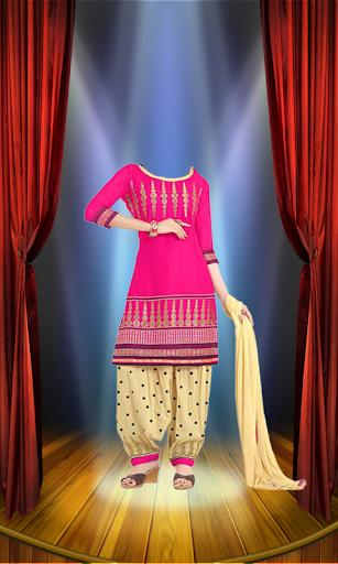 Woman Salwar Kameez Photo Suit