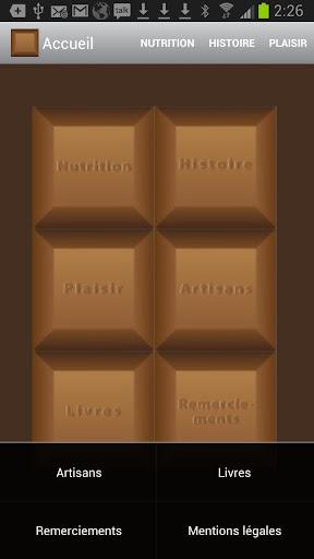 Chocolat et nutrition