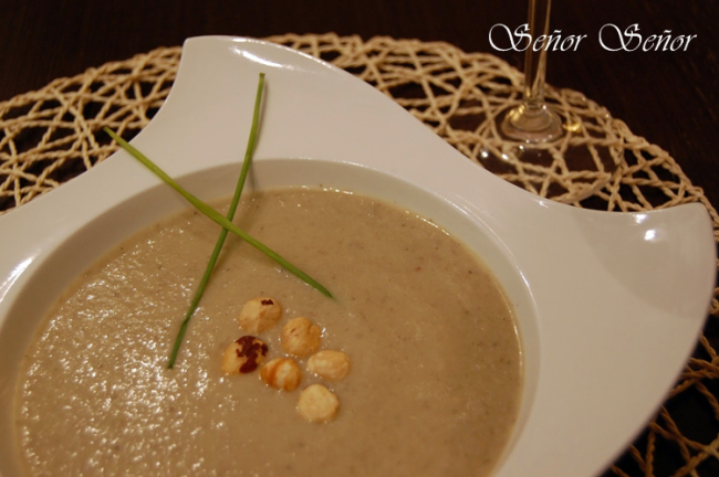 Wild Mushroom and Hazelnut Cream Soup Recipe
