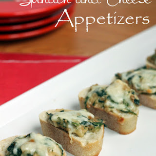 Hot Spinach and Cheese Appetizer.