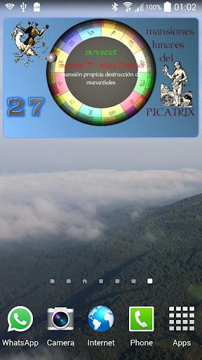 Lunar Mansions of Picatrix