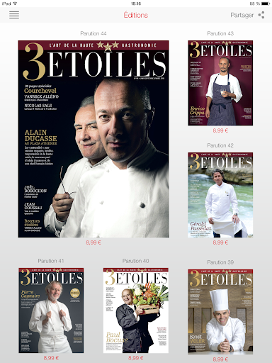 3 étoiles magazine