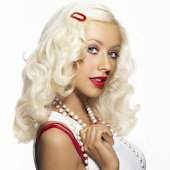 Christina Aguilera Live screen