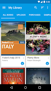 Google Play Books – Miniaturansicht des Screenshots
