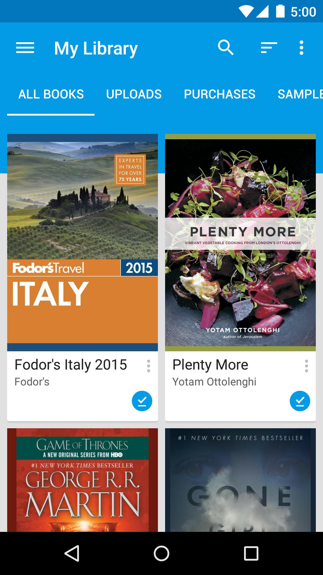 Google Play Books screenshot #2