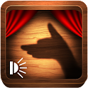 Hand shadow puppets icon
