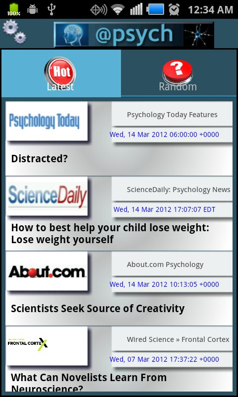 Psychology LCD - News & Blogs - screenshot