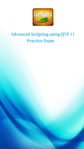 HP QTP 11 Advanced Script Prep