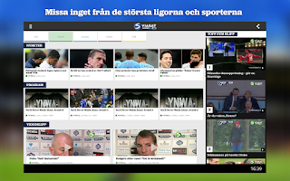Screenshot of Viasatsport.se