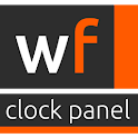 WooDFox Clock Panel logo