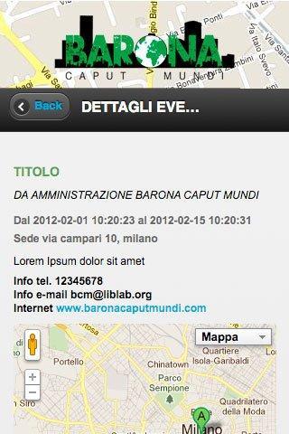 Barona Caput Mundi- screenshot