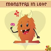 Go LauncherEx Monsters in love