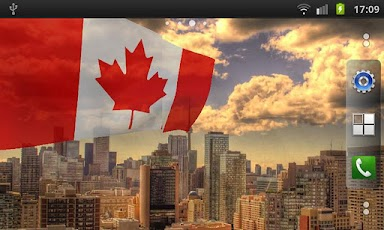 Флаг канады lwp бесплатно