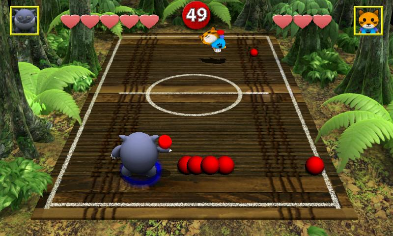 Chompy's Dodgeball Lite- screenshot