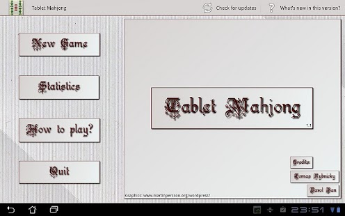 Tablet Mahjong - screenshot thumbnail