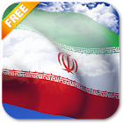 3D Iran Flag Live Wallpaper icon
