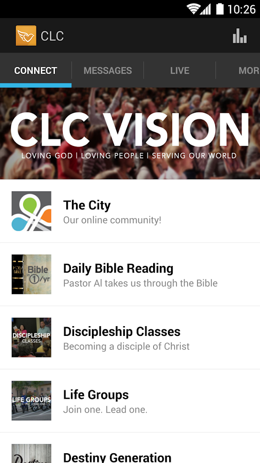 Covenant Love Church - screenshot