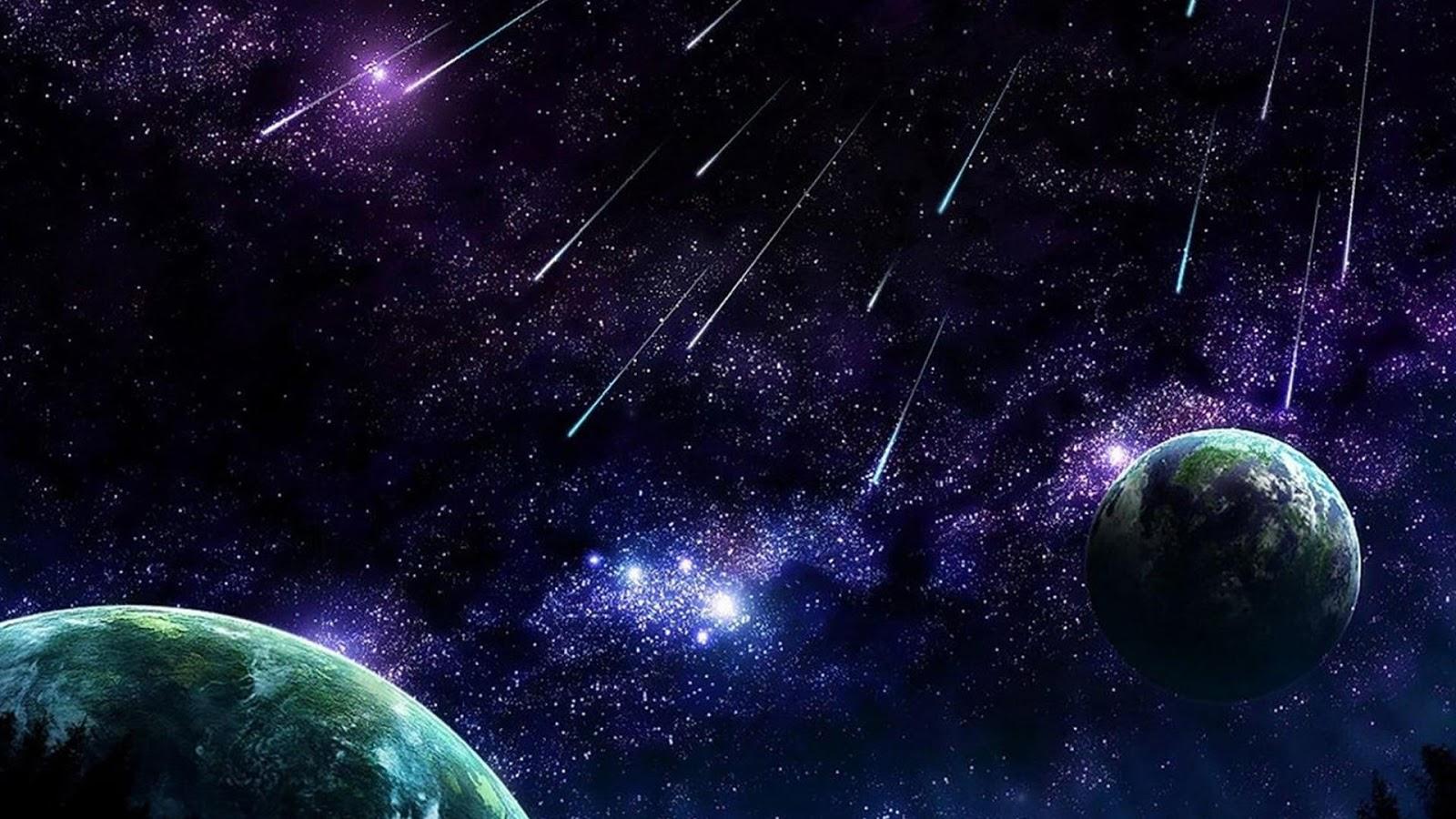 星と流星群