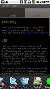 Task Tray - Beta - screenshot thumbnail