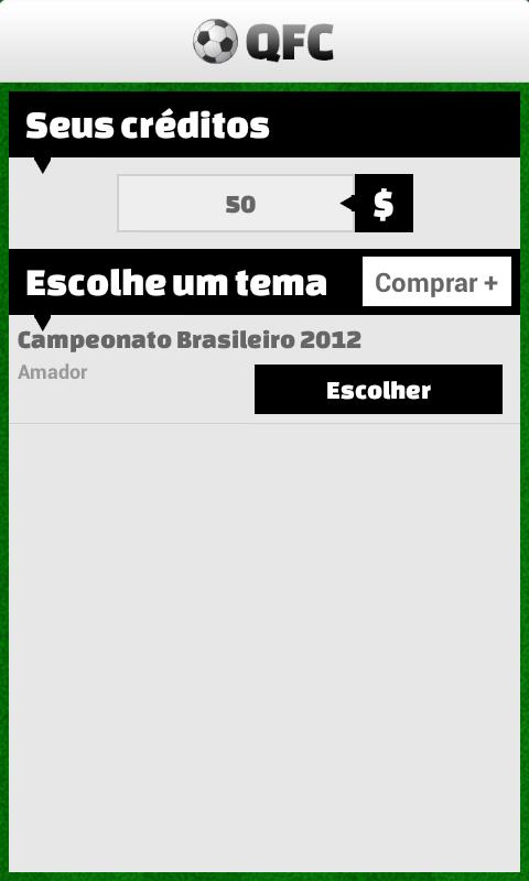 Quiz Futebol Club - screenshot