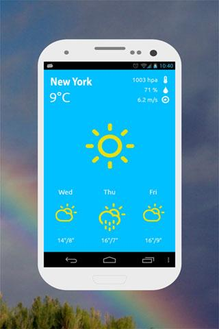 atmosHere Weather Free » Apk Thing - Android Apps Free Download