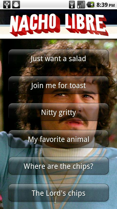 Nacho Libre Soundboard - screenshot