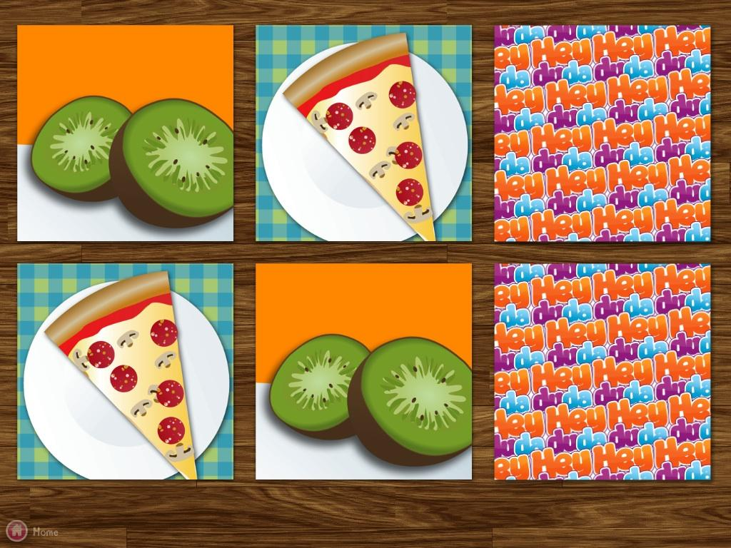 food memo match for kids android apps on google play food memo match for kids screenshot