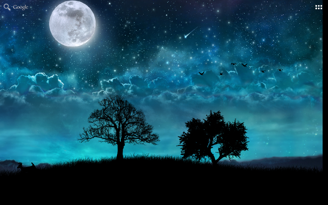 dream night pro live wallpaper - android apps on google play