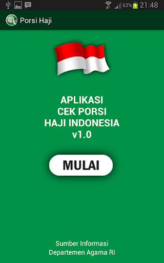 Check Porsi Haji