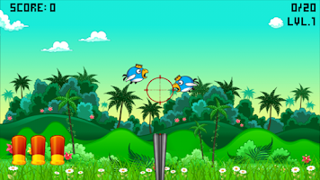 Screenshot of Bird Shooter