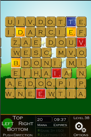 WORD PUSH - Word Search Puzzle- screenshot